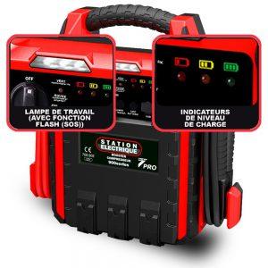 fonctions booster batterie auto7 station electrique
