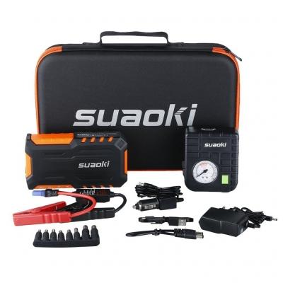 mini booster batterie suaoki g7plus avec compresseur
