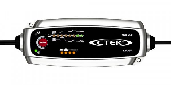 chargeur CTEK MXS 5.0 face avant