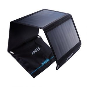 chargeur solaire Anker 21w