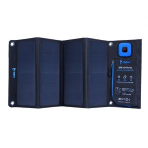 chargeur solaire portable BigBlue 28w