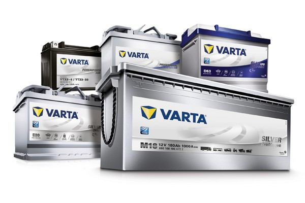 batteries VARTA differnets modeles