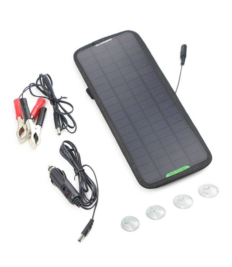 ALLPOWERS 18V/12V 5W Chargeur Solaire