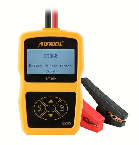 Testeur de Batterie 12v AUTOOL en Promo -38%